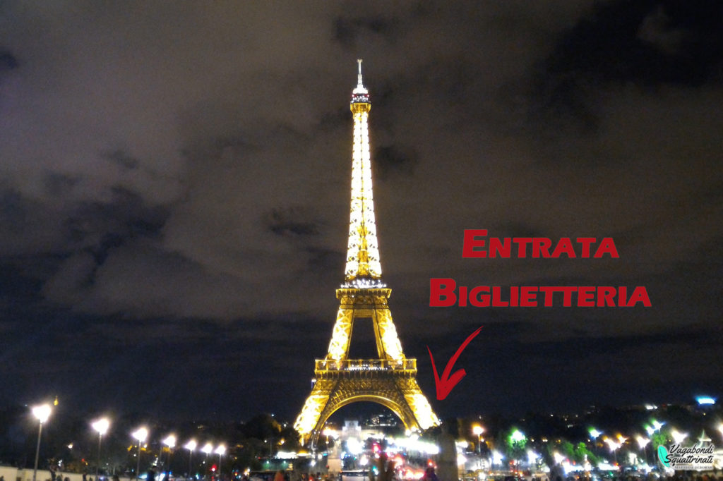 Biglietteria Torre Eiffel