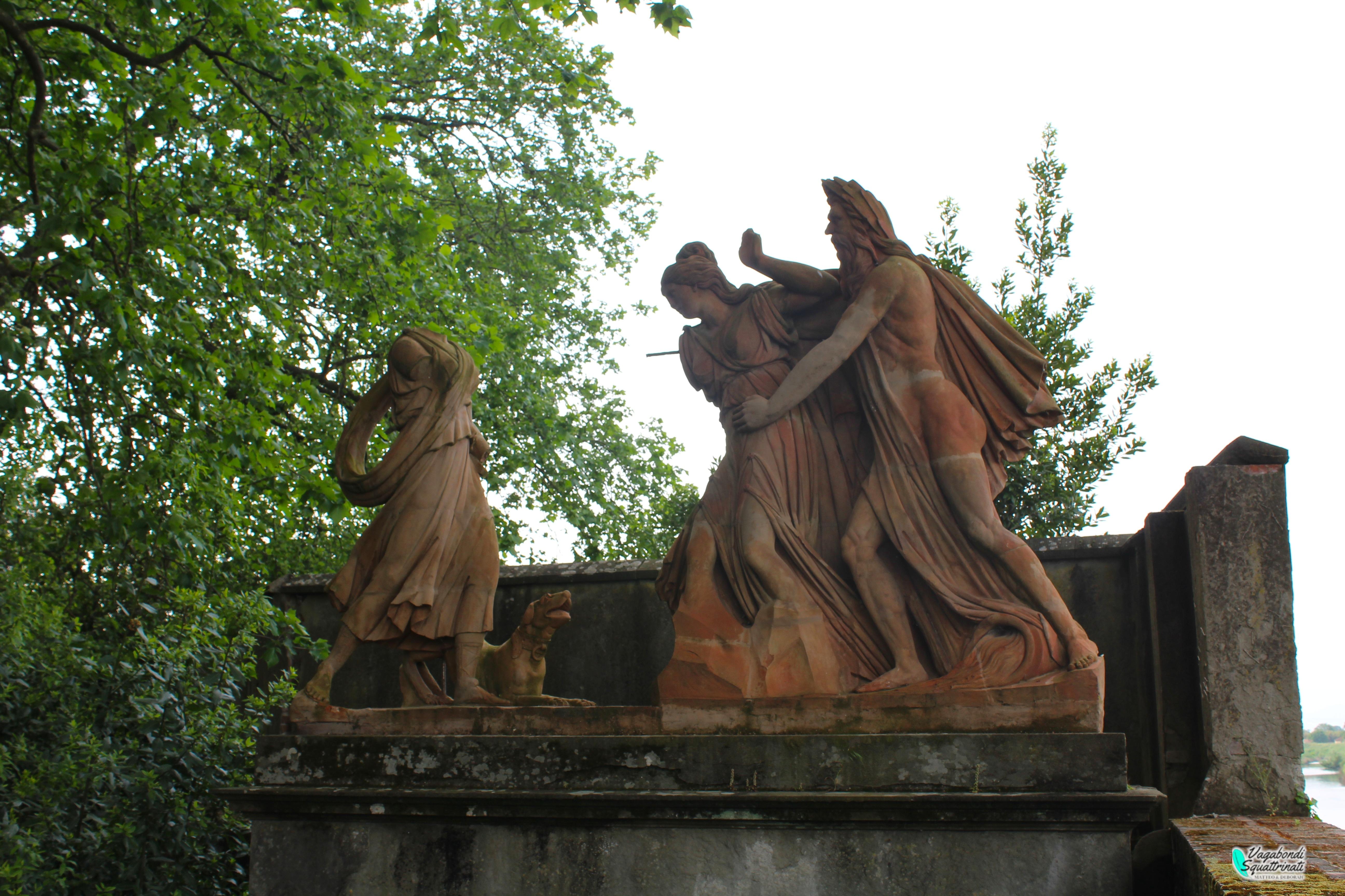 statua della ninfa ambra