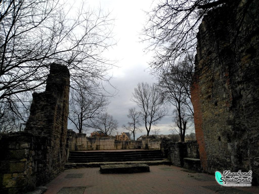 Rovine Conevnto Medievale Francescano Isola Margherita Budapest