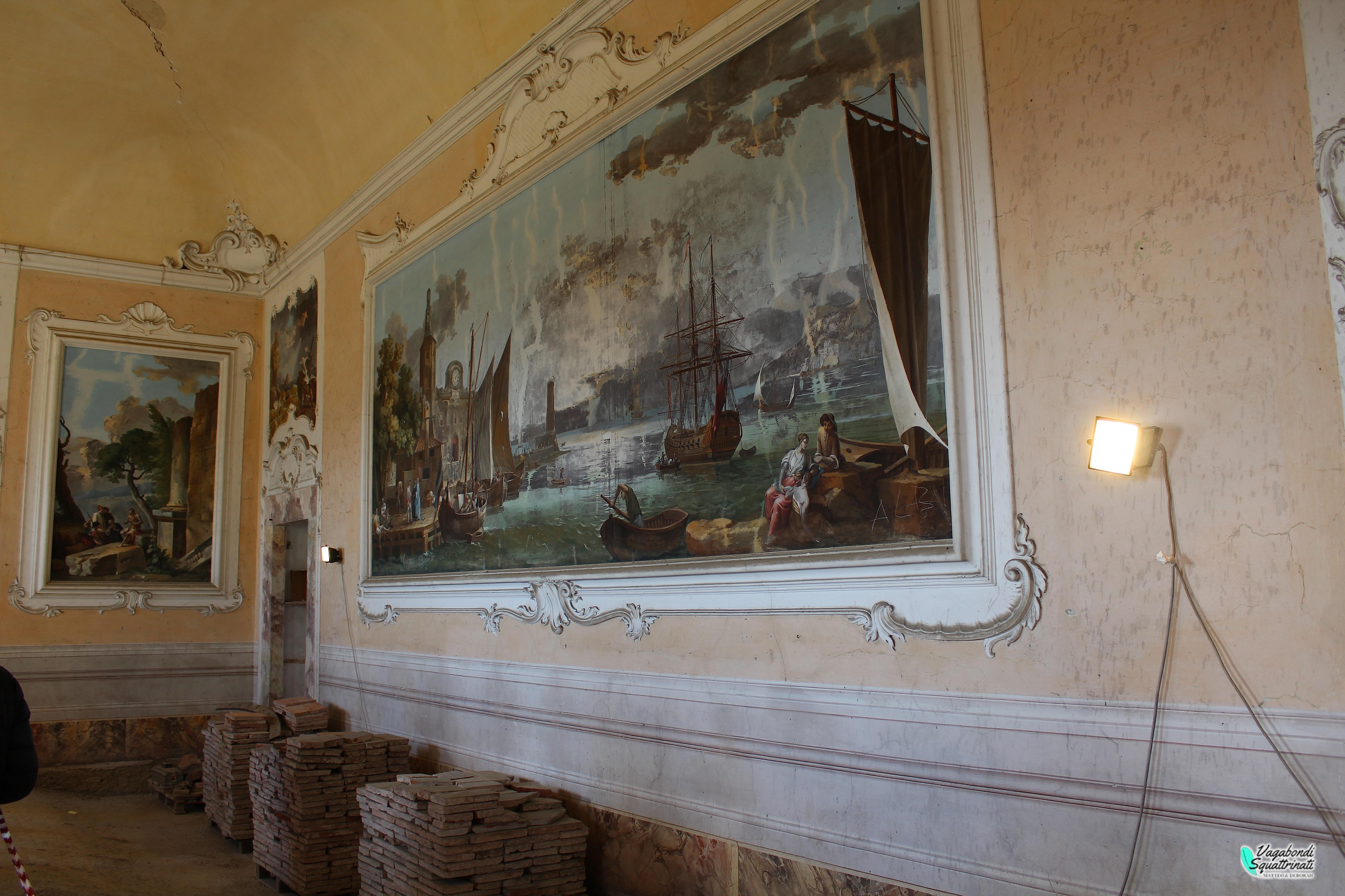 sala della marina villa del barone