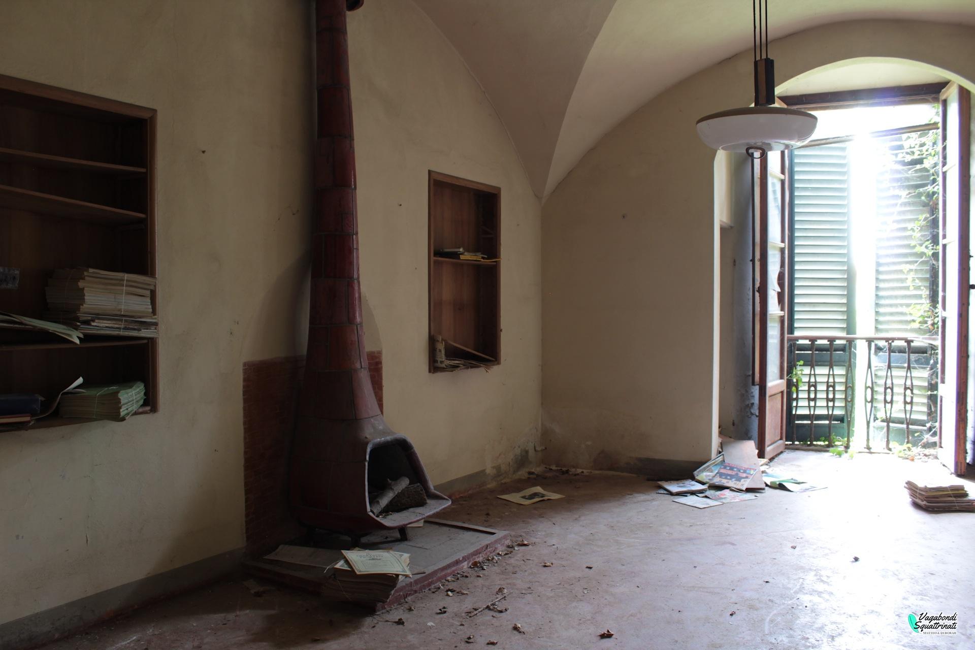 Esplorazione urbana alla Villa di Canneto