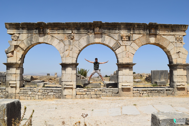 Gita di un giorno da Fes: visitare i resti della città romana di Volubilis