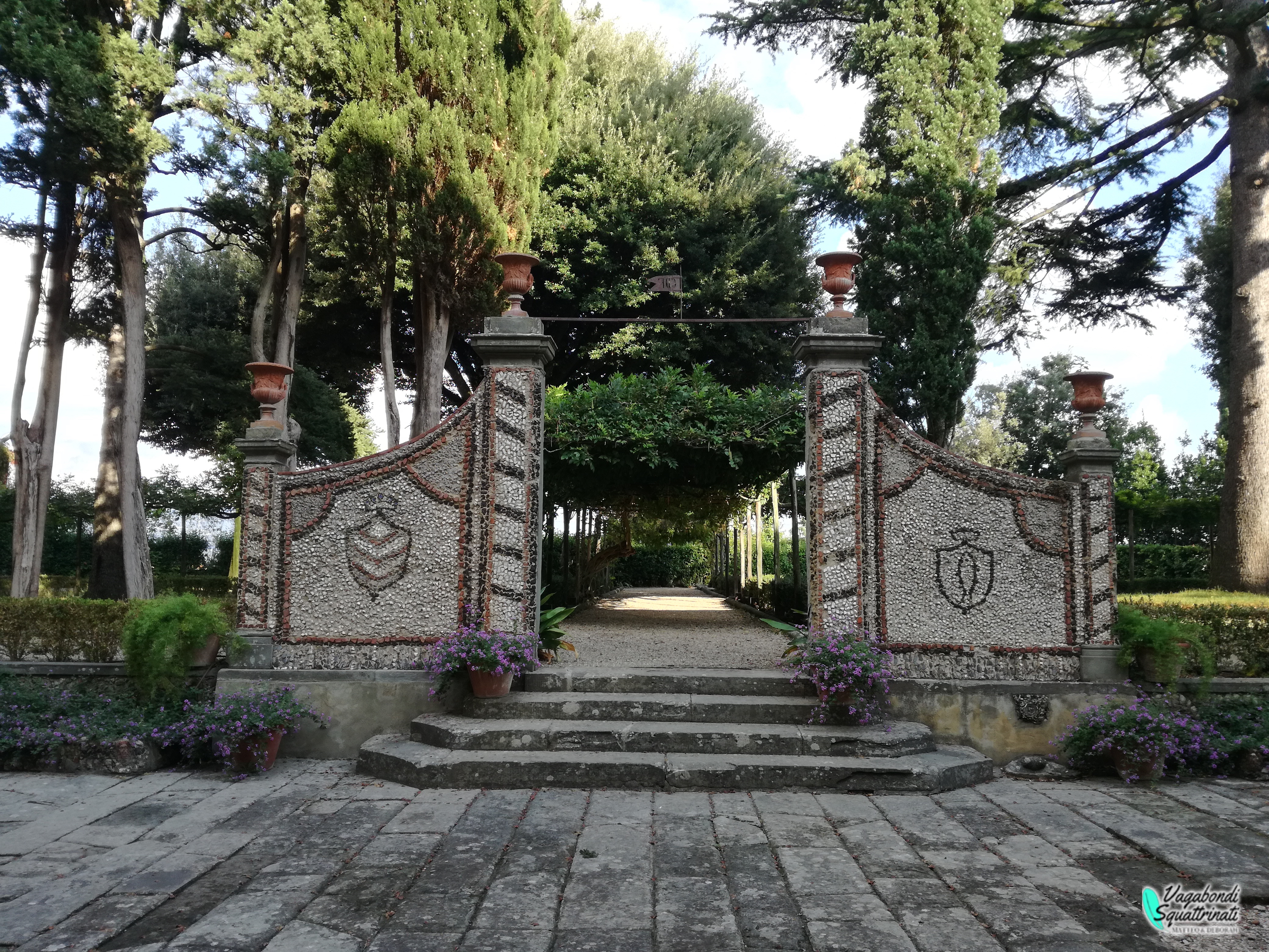 ingresso giardinovilla medicea di cerreto guidi