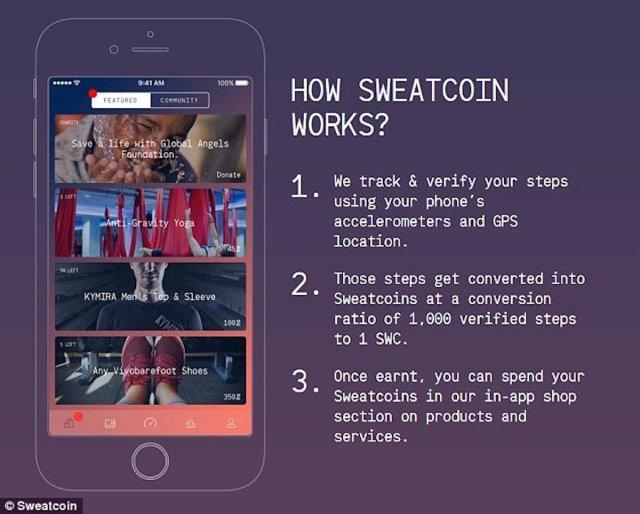 SweatCoin - l'app per guadagnare camminando