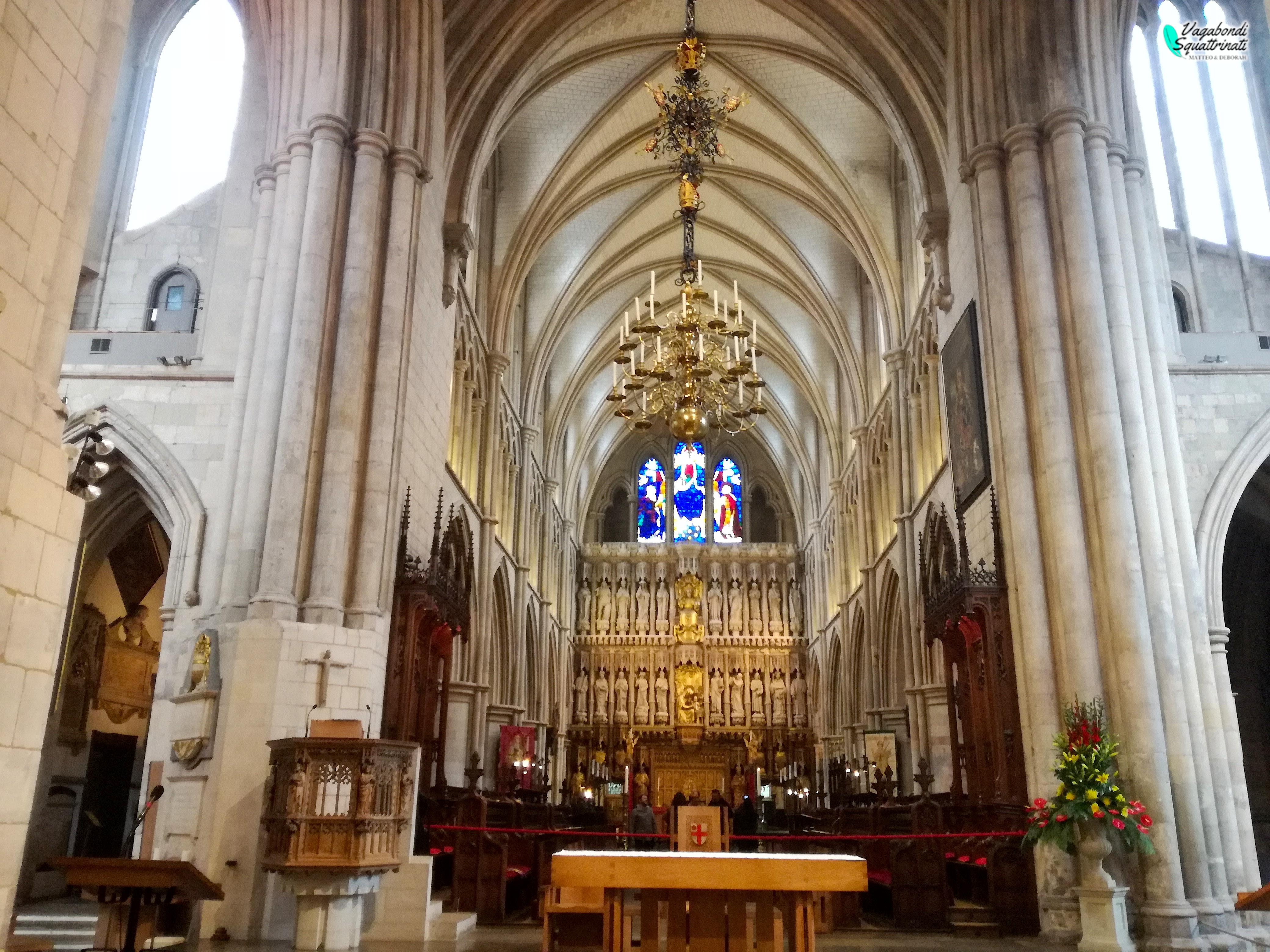Coro della cattedrale di Southwark