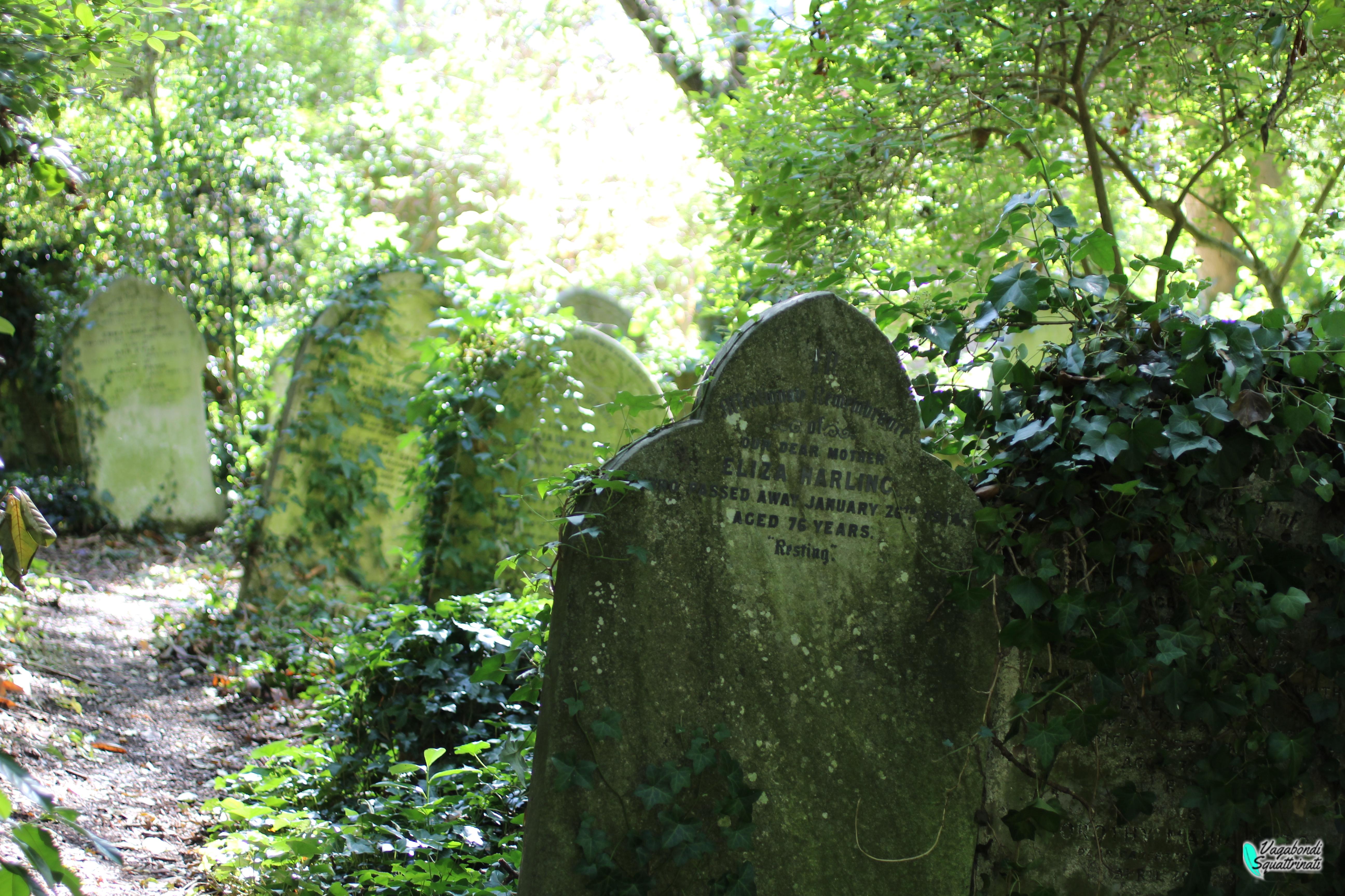 cimitero di Highgate di Londra