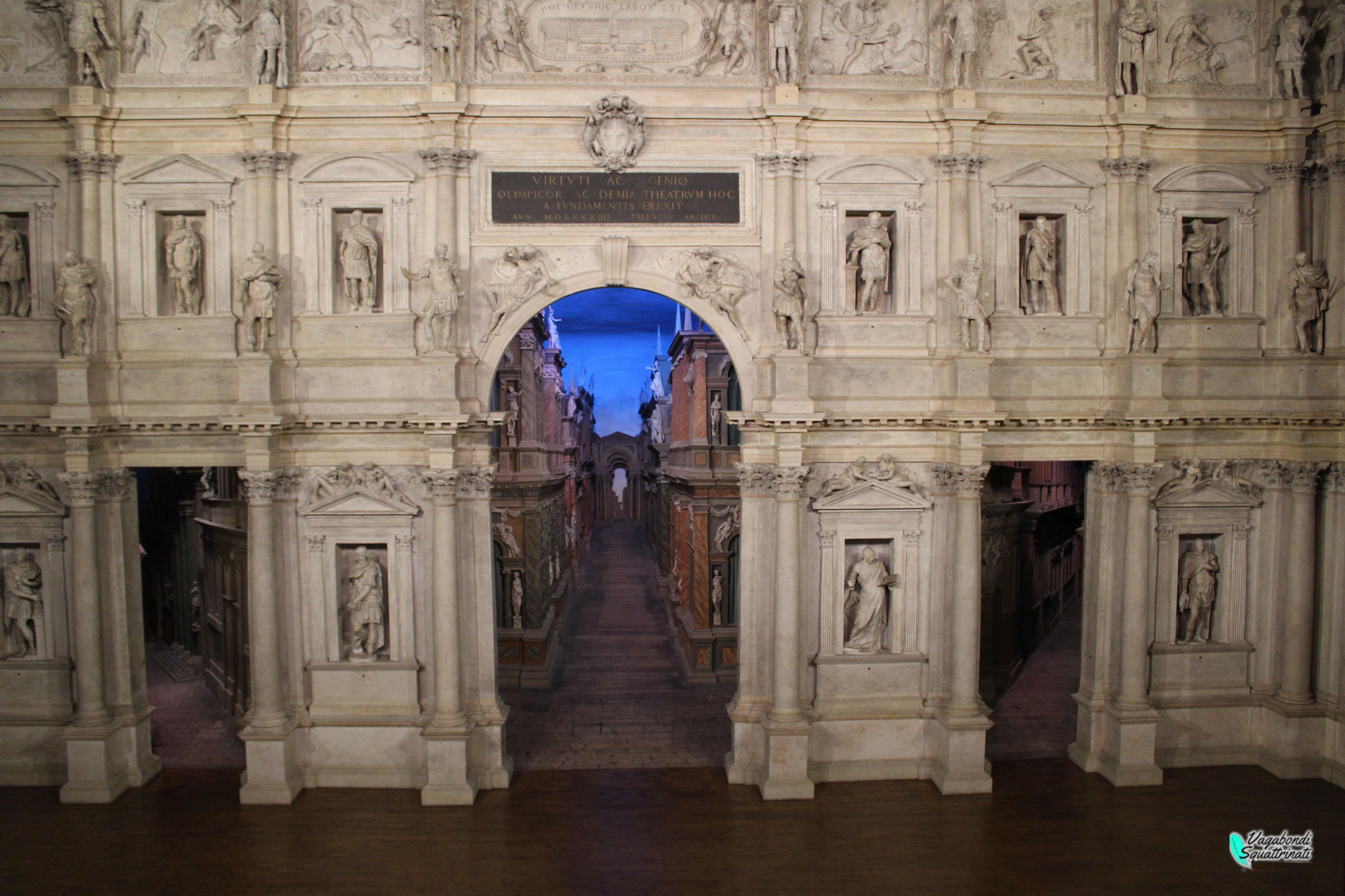 Teatro Olimpico di Vicenza: capolavoro Palladiano