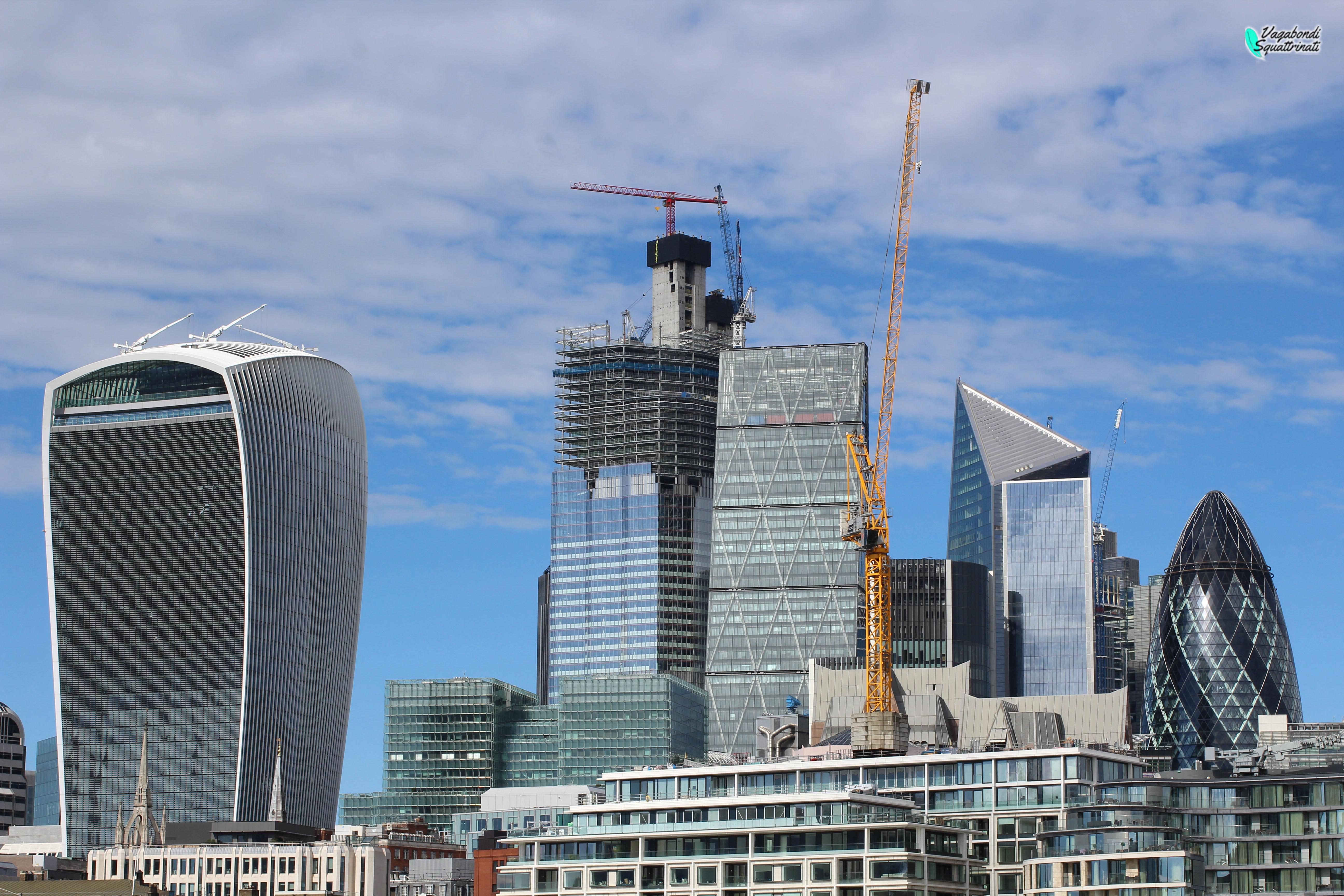 Ammirare gratis il panorama di Londra dallo Skygarden