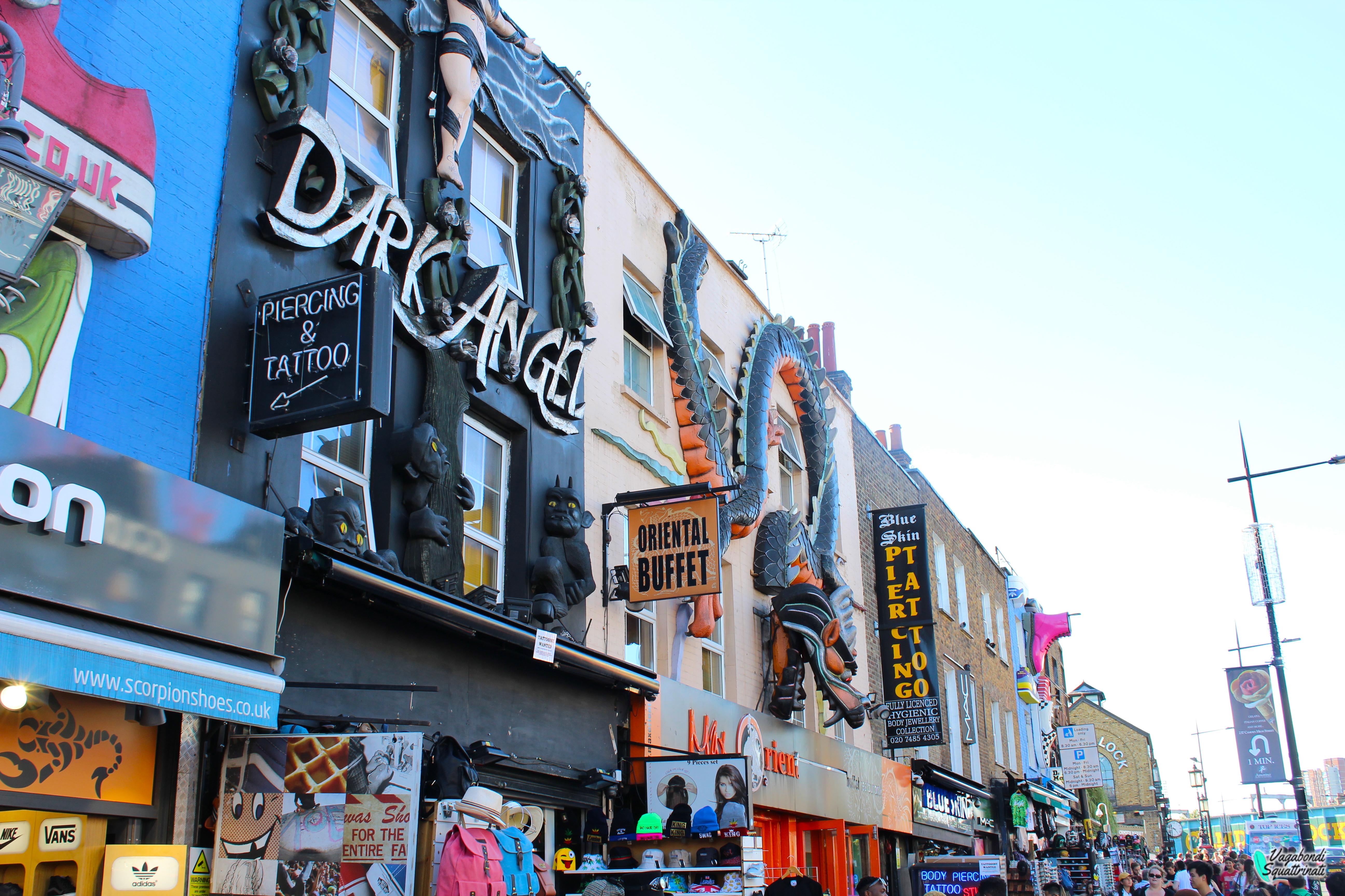 12 cose da fare gratis a Londra Camden town