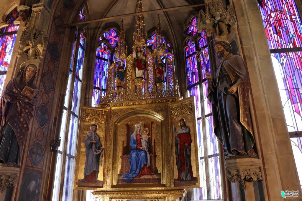 Cappella di bovindo all'interno della torre dell'Orologio