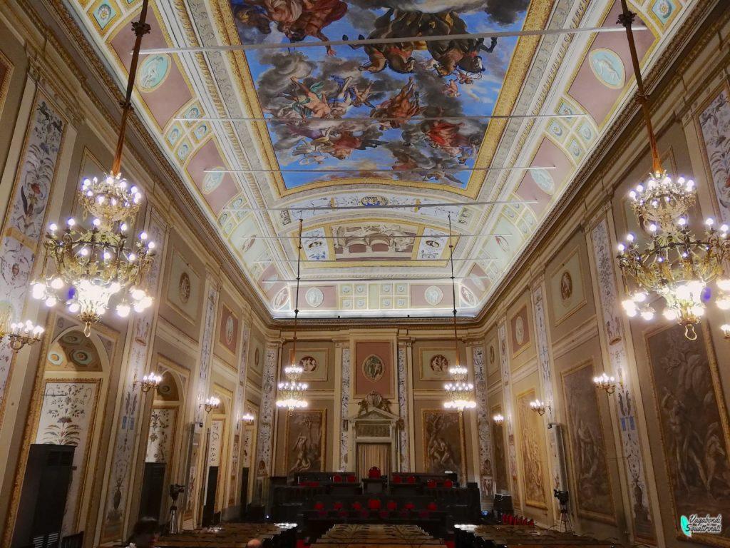 sala d'ercole palazzo dei normanni Palermo