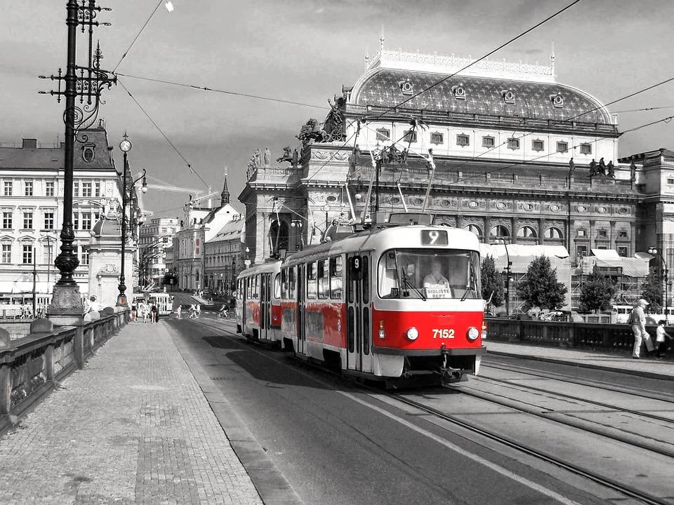 Muoversi a Praga: Tram