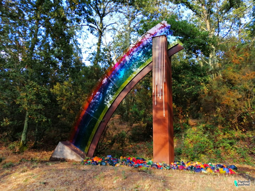 The rainbow parco sculture del chianti