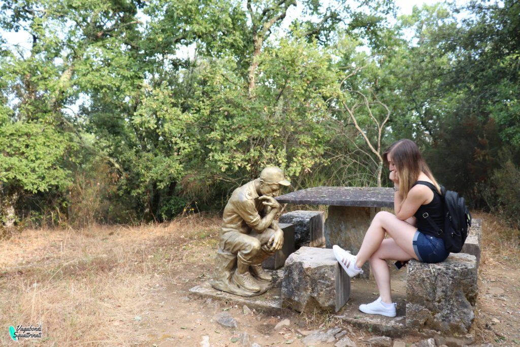 parco sculture del chianti il pensatore
