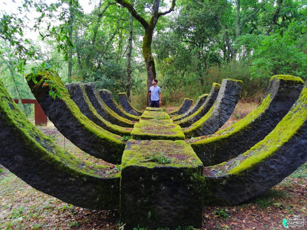 5 mete alternative in Toscana parco sculture del chianti