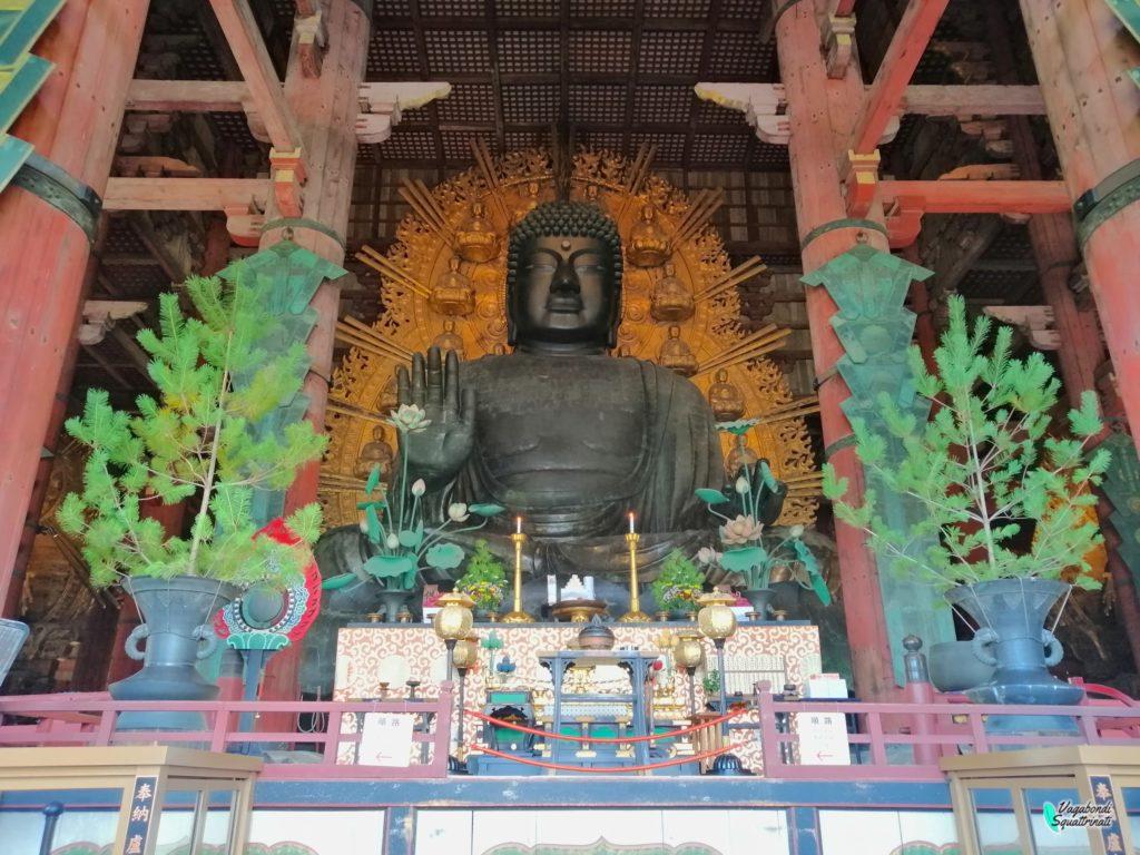 nostro viaggio a Kyoto grande buddha  di Nara