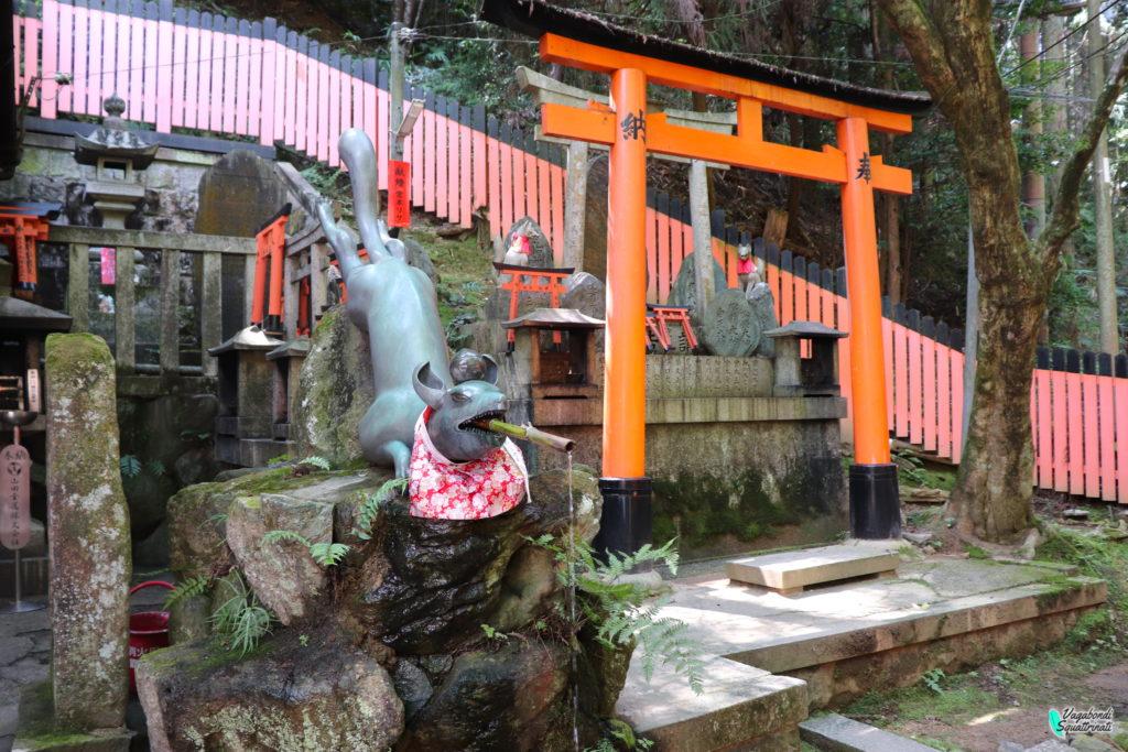 fushimi inari santuario salita
