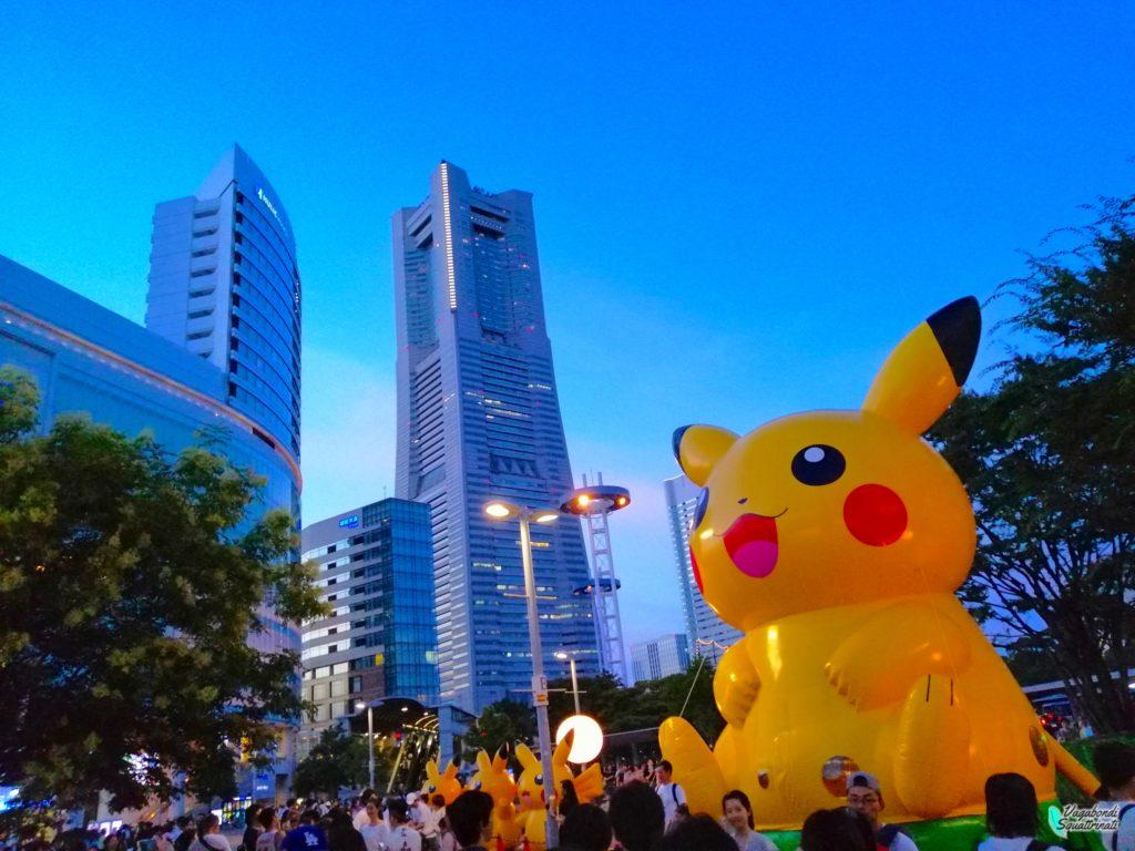 Pikachu parade stazione di sakuragikicho