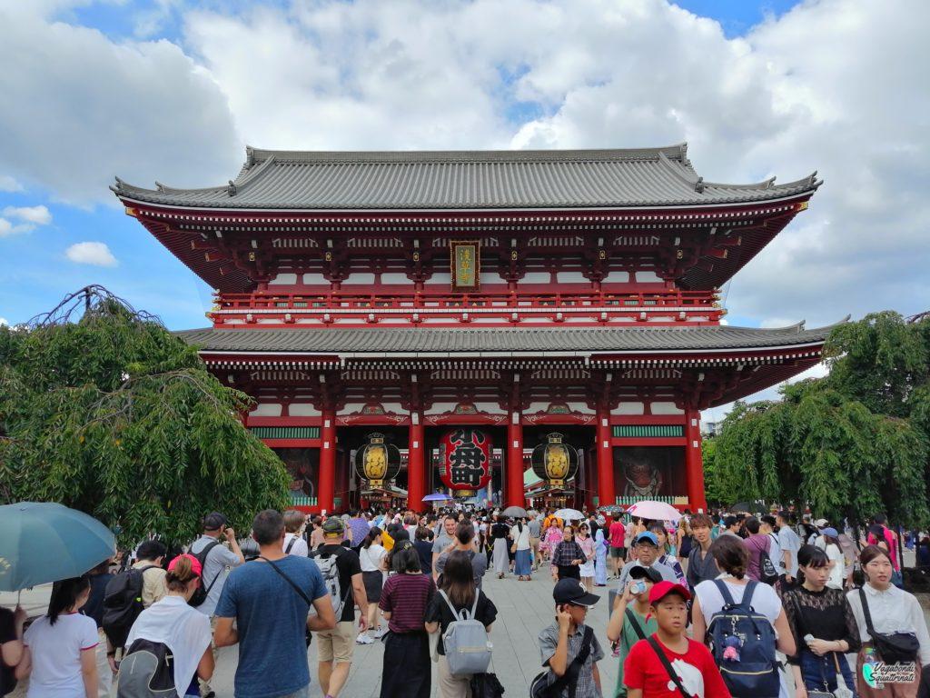 Sensoji Asakusa Diario di viaggio a Tokyo