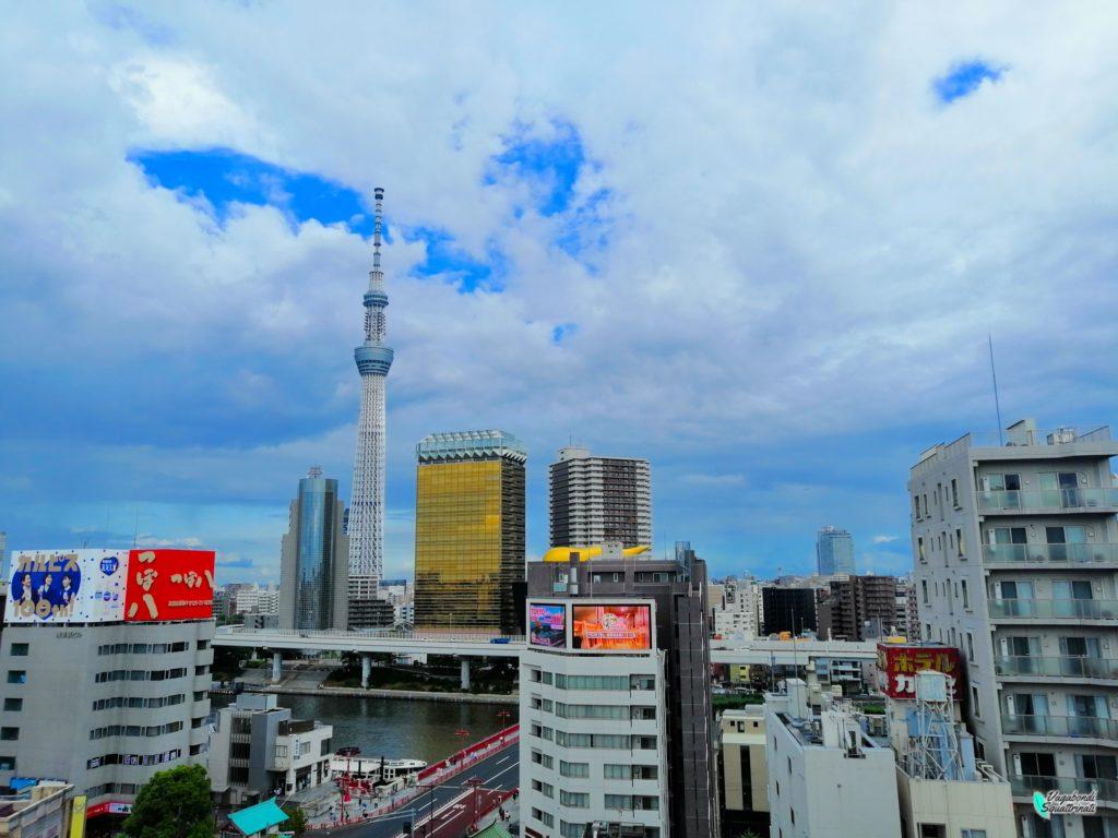 tokyo Skytree dal centro informazioni turistiche Asakusa Diario di viaggio a Tokyo