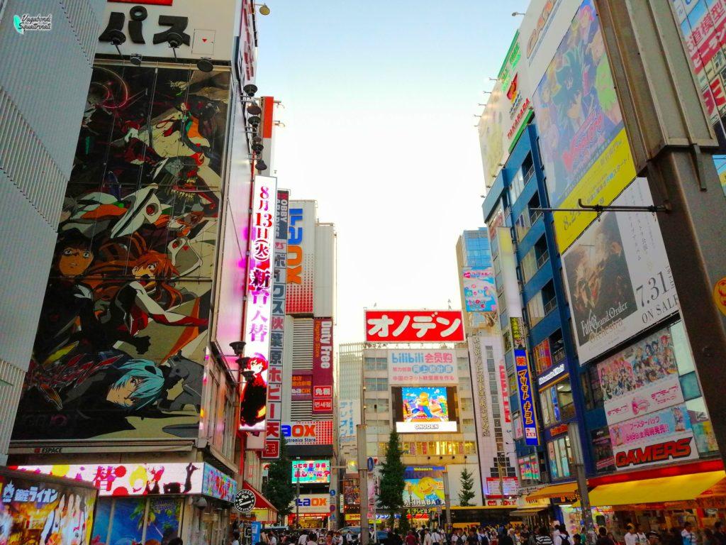 Akihabara Diario di viaggio a Tokyo