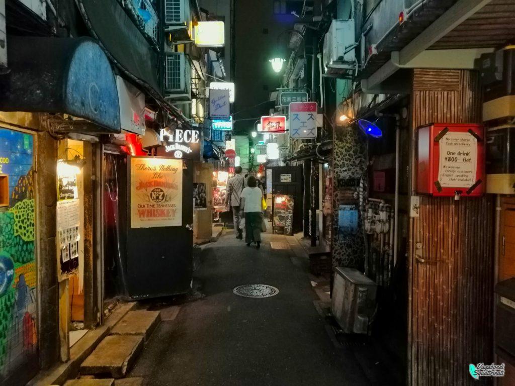 golden gai Shinjuku Diario di viaggio a Tokyo