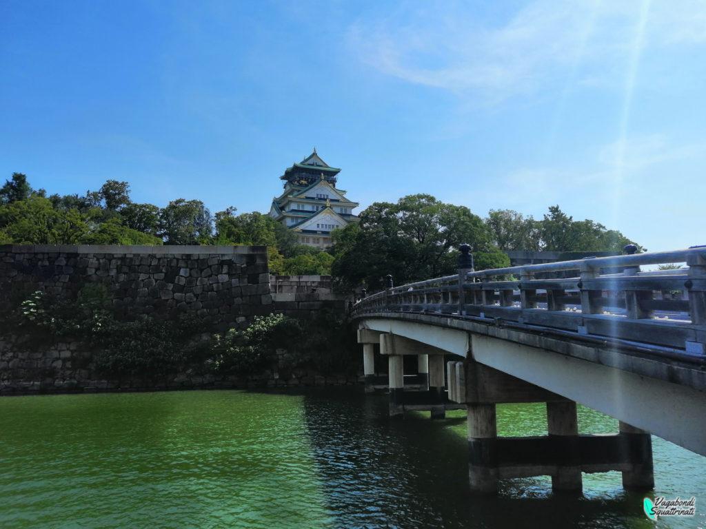 un giorno a Osaka castello
