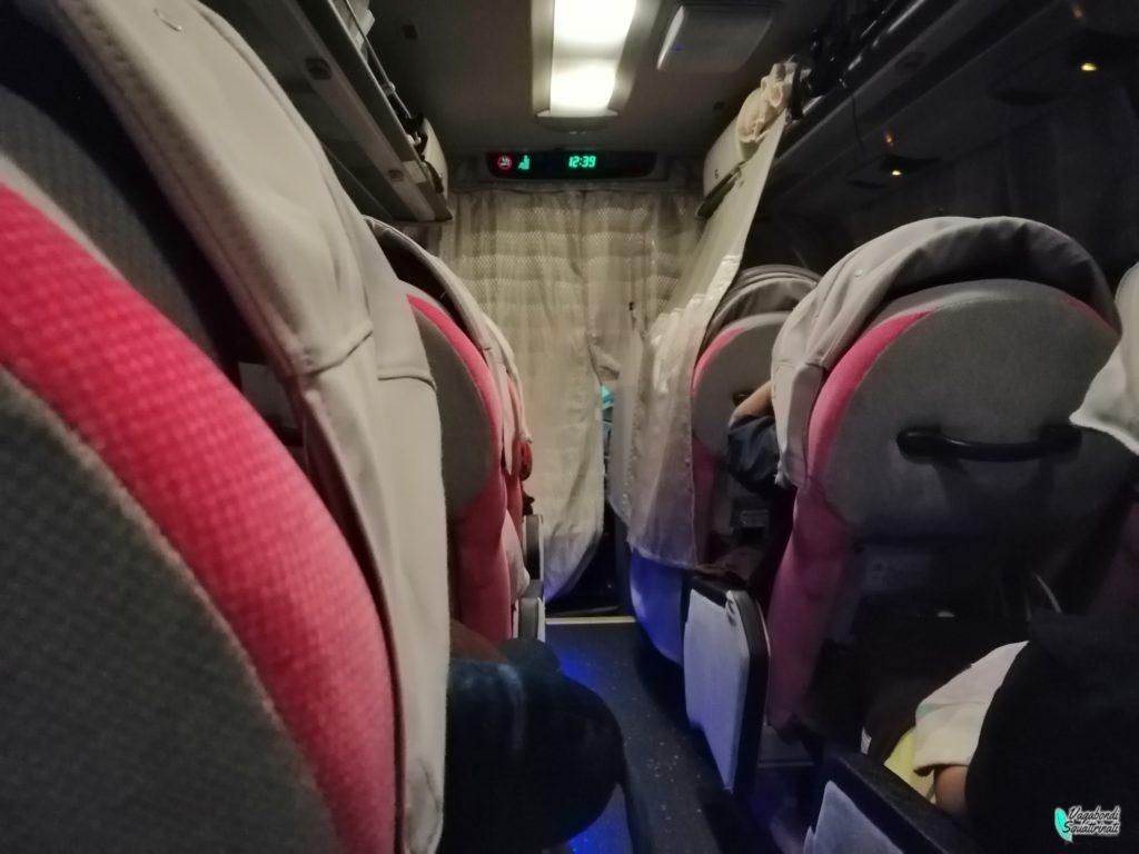 diario di viaggio a Tokyo interno willer express