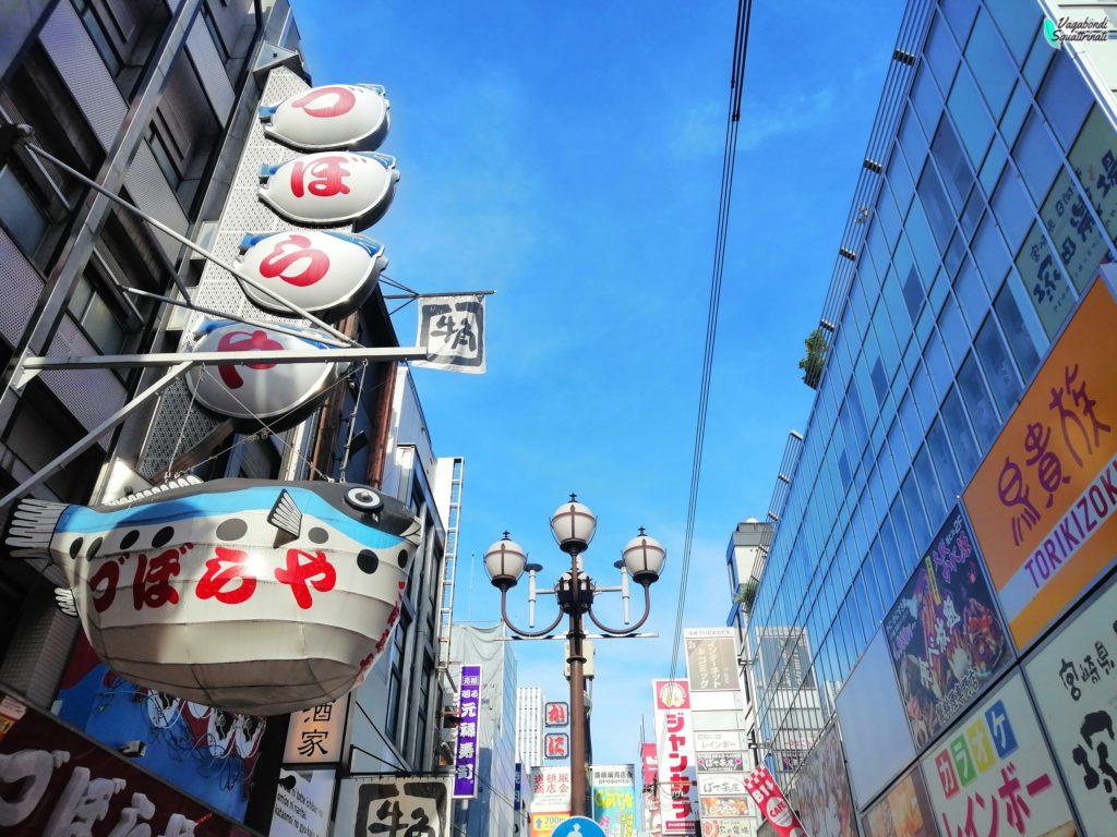 un giorno a Osaka nanba
