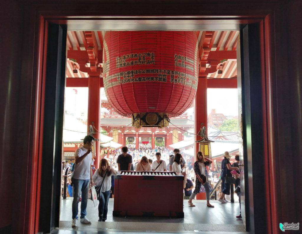 diario di viaggio a Tokyo sensoji