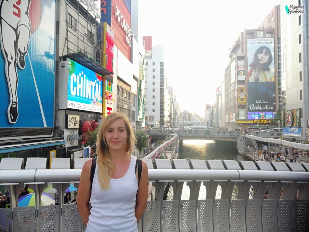 un giorno a Osaka nanbaun giorno a Osaka nanba ambra