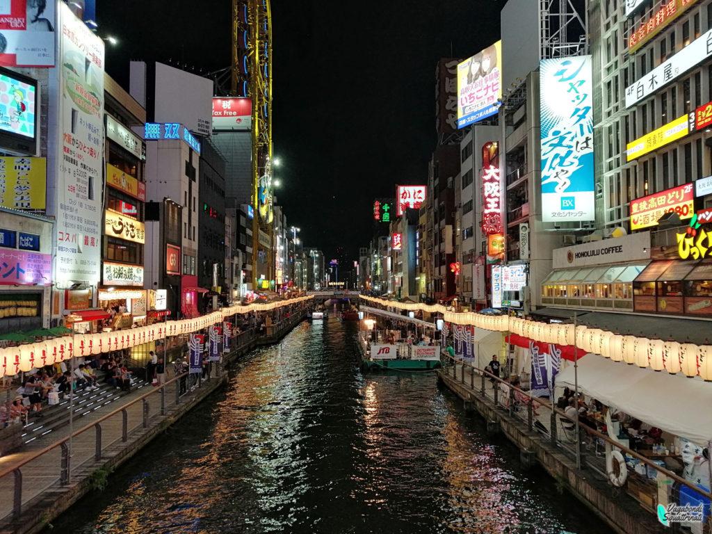 un giorno a Osaka dotonbori