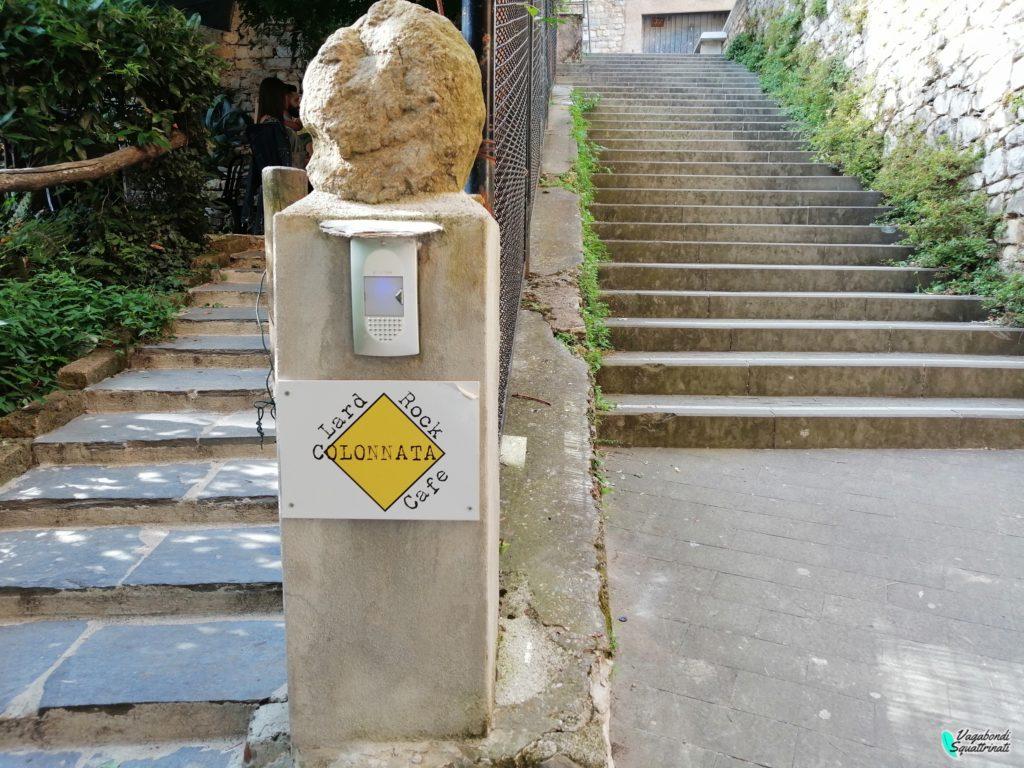 visitare colonnata lard rock