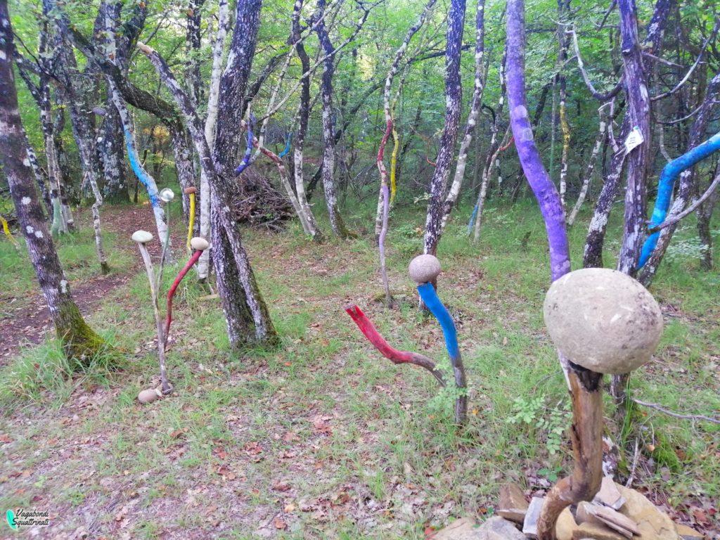 natura parco sculture chiusino