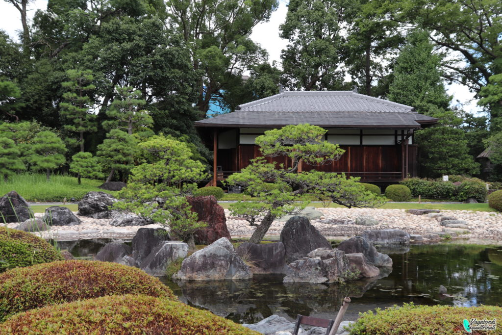 giardino Seiryu-en visitare il castello nijo