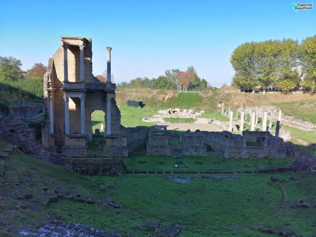 un giorno a Volterra teatro romano