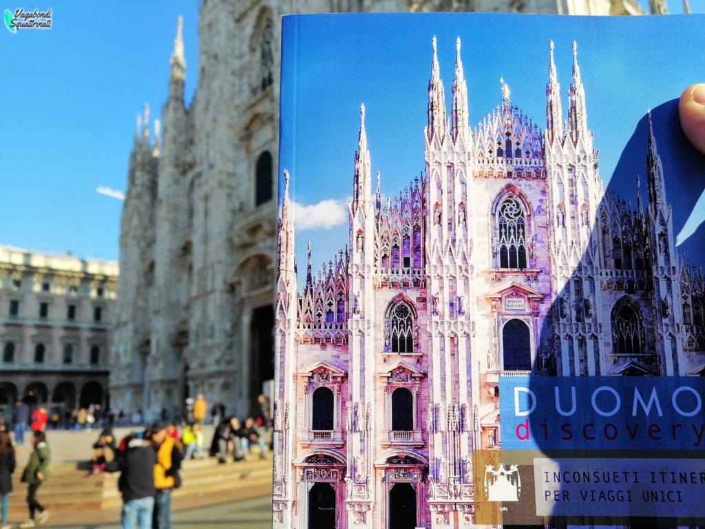 Un giorno a Milano d'autunno: duomo