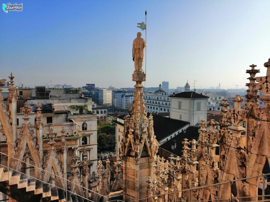 Un giorno a Milano d'autunno: terrazze duomo
