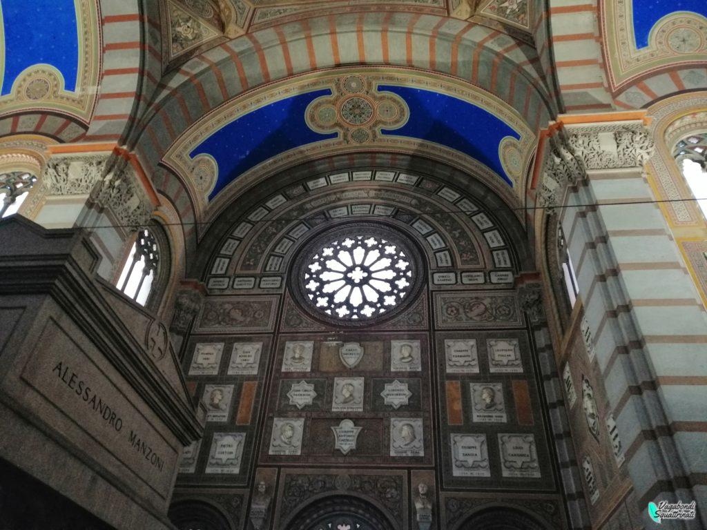 Il Cimitero Monumentale di Milano tomba alessandro manzoni
