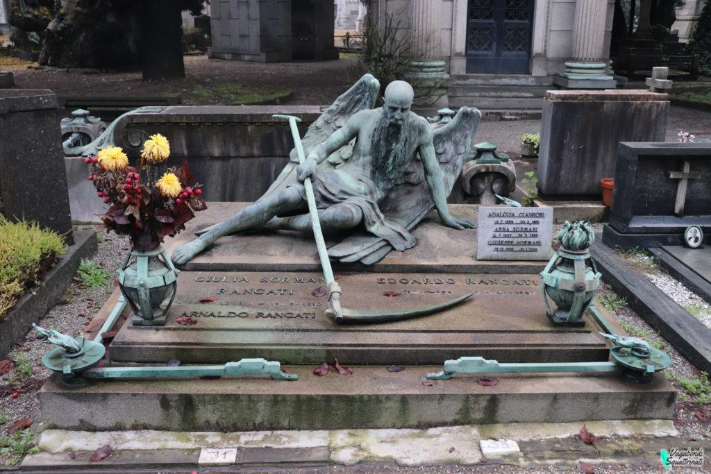 Un giorno a Milano d'autunno: cimitero monumentale