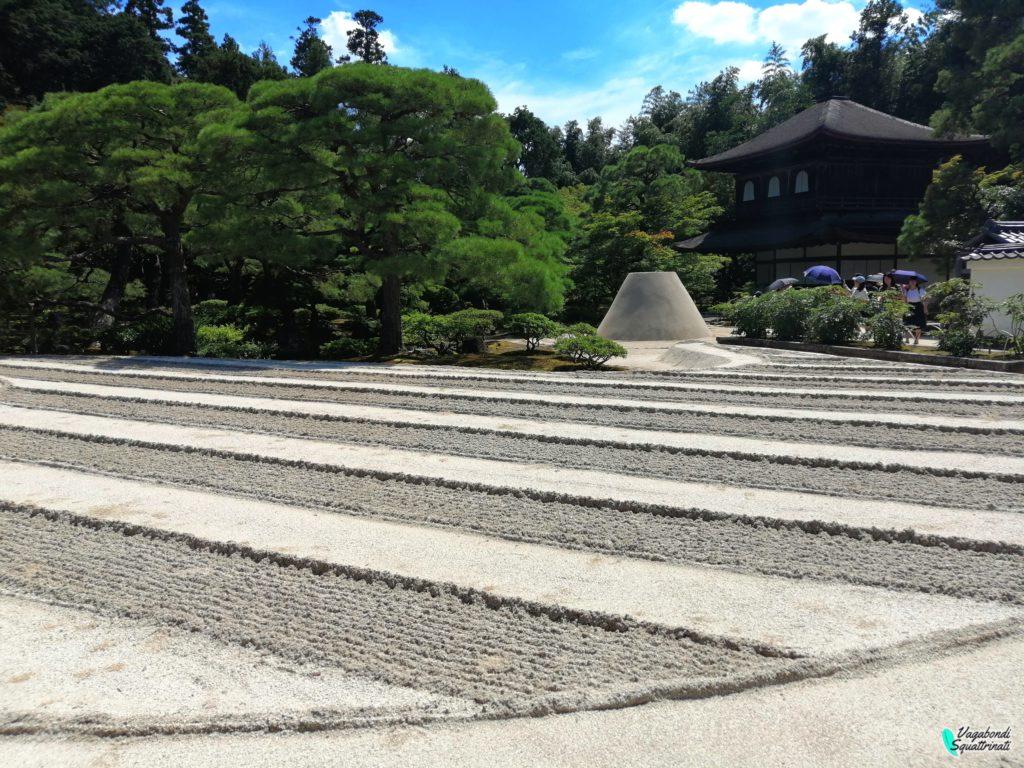 Ginkaku-ji: giardino zen