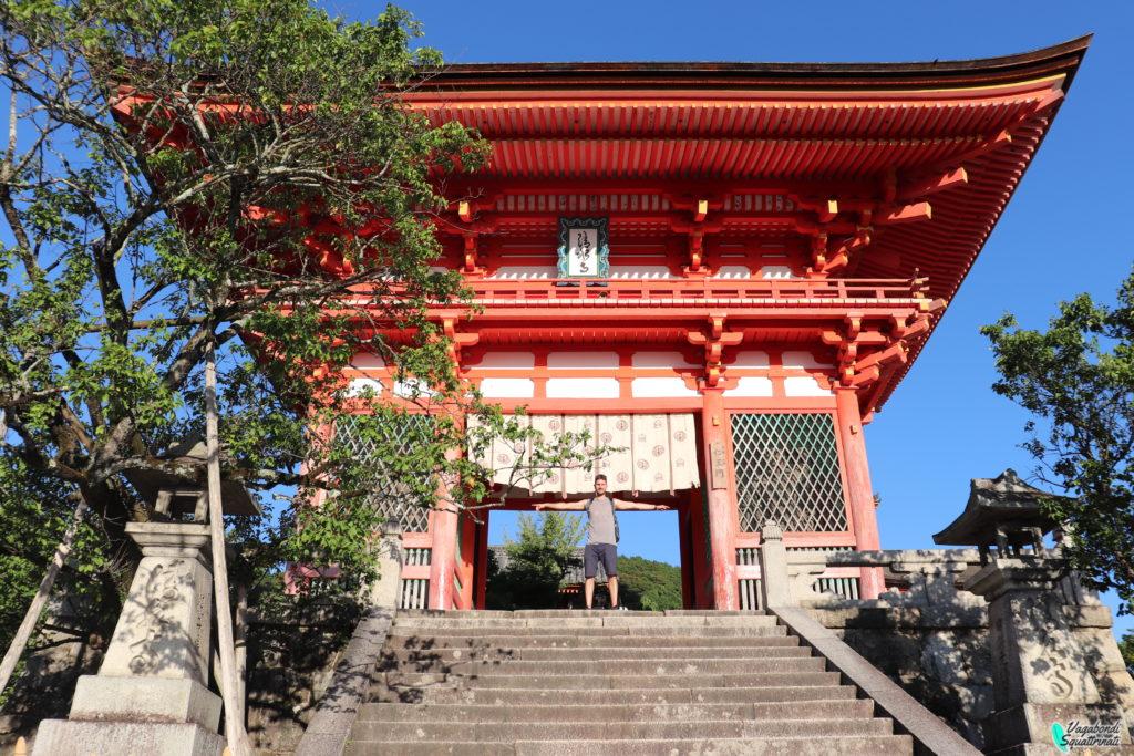 visitare il kiyomizu-dera
