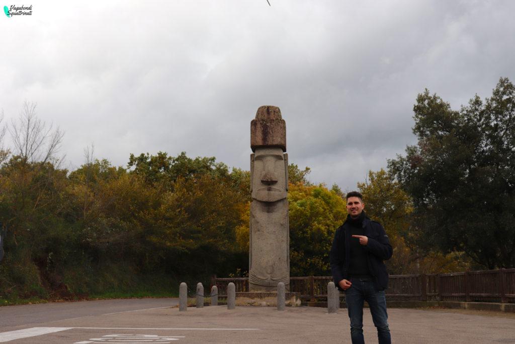 moai vitorchiano Matteo