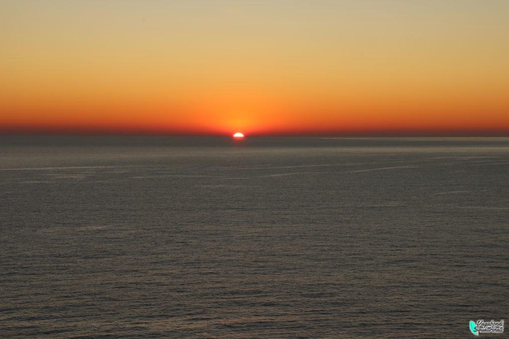 tramonto incredibile portovenere