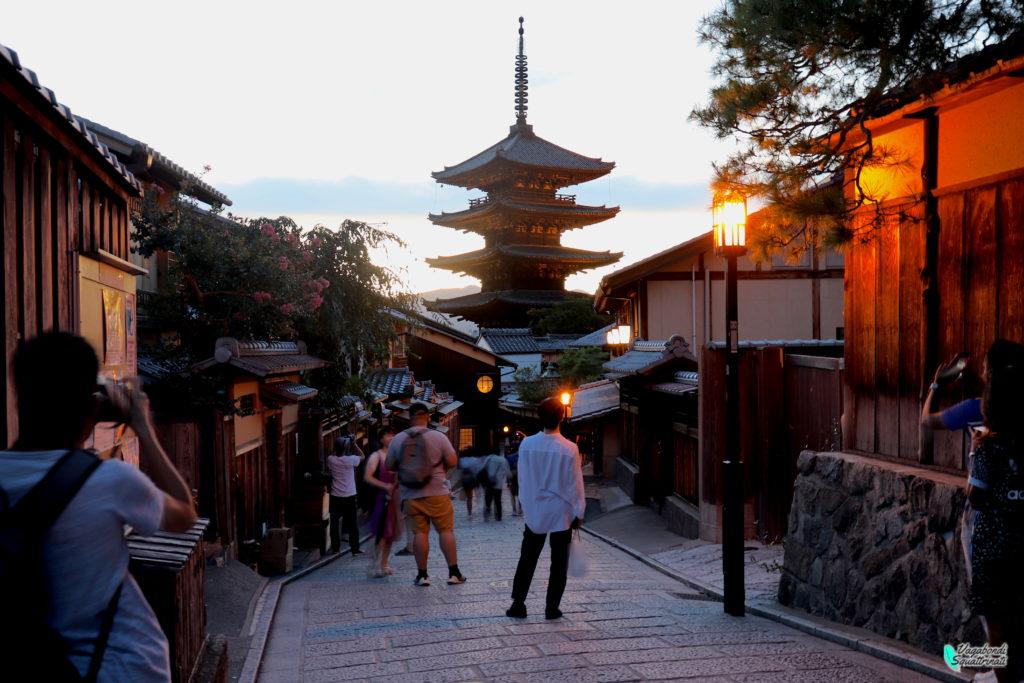 pagoda Yasaka-no-to ninenzaka