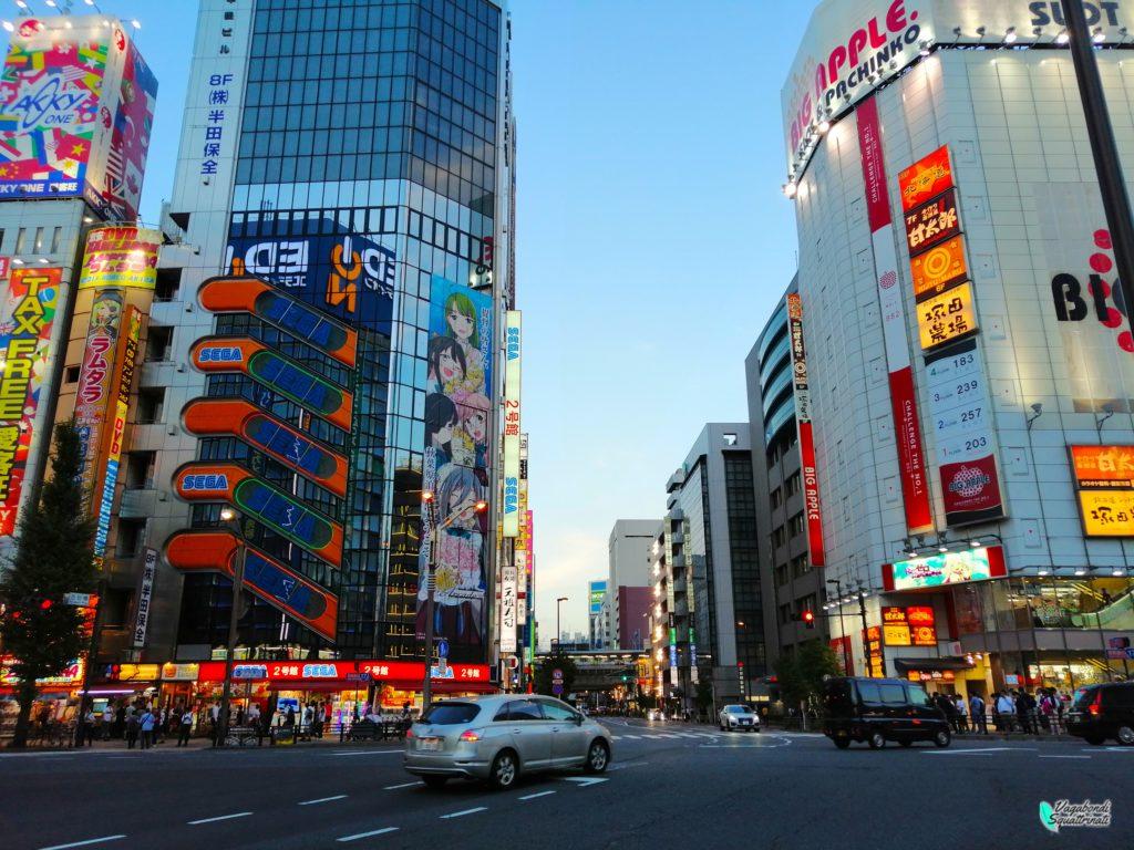 quartiere da visitare a tokyo akihabara