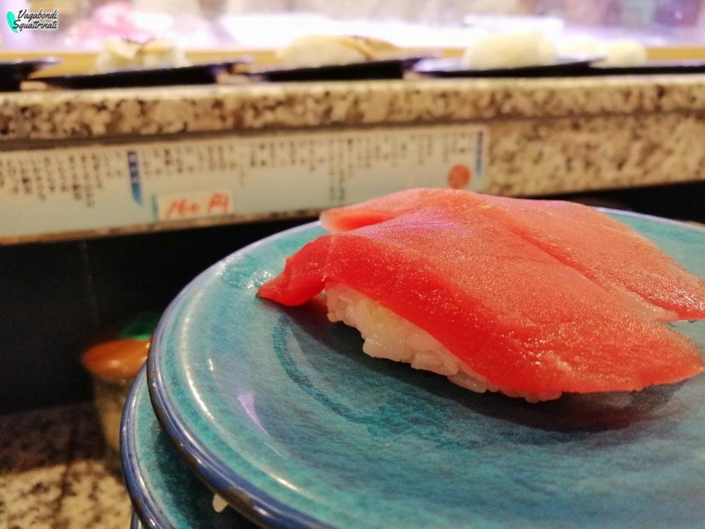 cosa mangiare in giappone sushi
