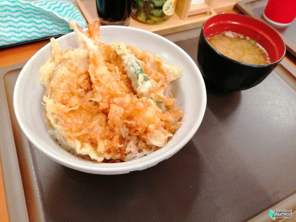 cosa mangiare in giappone tempura