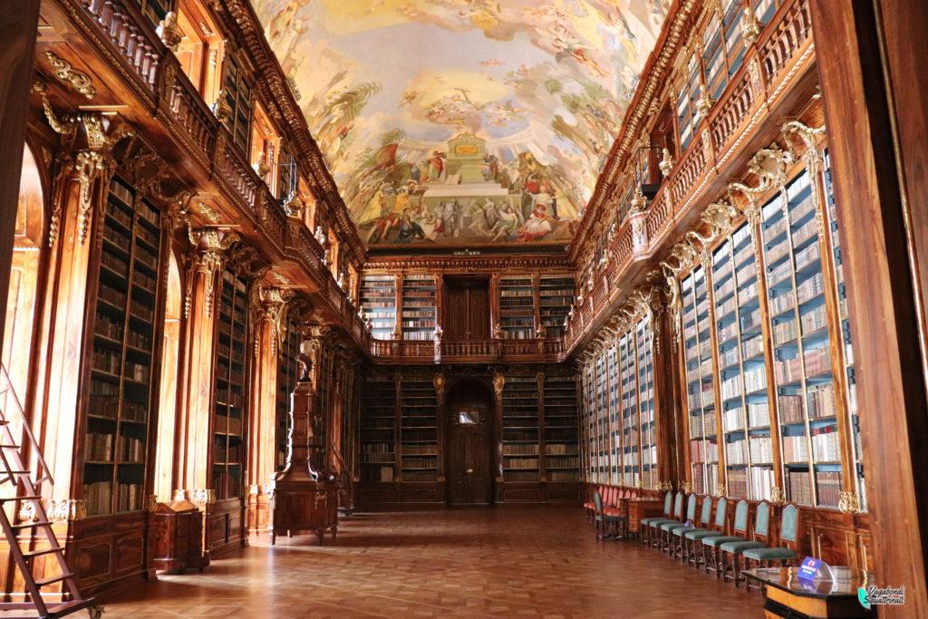 monastero di strahov sala filosofica