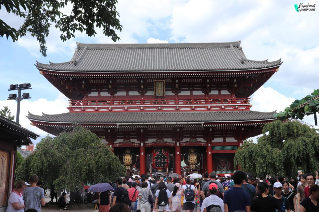 quartieri da visitare a tokyo sensoji asakusa